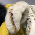 深圳知名女装雪罗拉韩版羽绒服货源广州品牌服饰库存批