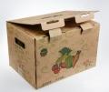 开封加工三层五层瓦楞纸板 食品专用包装箱生产周期快