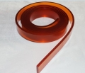 65度55度咖啡色茶色丝印刮胶尖口印刷胶条