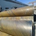 630*8螺旋钢管6米定尺加工