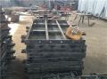 水泥防撞护栏钢模板保护作用