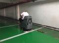 北海洗地机直销小区物业停车场地面卫生清洗设备