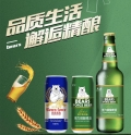精品熊力易拉罐啤酒啤酒