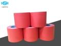 耐高温红美纹胶带 硅胶复合喷锡喷漆遮蔽红胶带