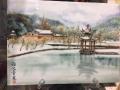 新中式陶瓷壁画 景德镇唐龙陶瓷壁画厂家