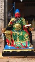 韦陀伽蓝菩萨佛像价格关公 关羽 武财神佛像雕塑