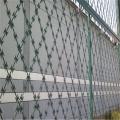 供应厦门三明钢板护栏网 刺绳围栏防护网可定制