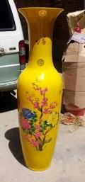 西安招财摆件落地大花瓶摆件现代客厅摆件花瓶开业摆件