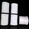 反光纱线 纺织反光丝 高亮度双面反光纱 厂家定制