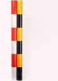 电线杆拉线保护套 警示管(一套)黑黄电力拉线保护套