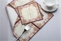 成都爱煜芳菲定制彩色印花纸巾创意彩色印花烫金餐巾纸