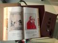 西安丝绸邮票珍藏书道德经,含收藏银币版纪念品