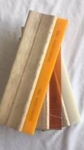 泉州专业生产65度75度平口丝印刮胶 铝柄木柄刮刀