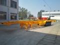 7.3米(20英尺)骨架集装箱半挂车价格走向
