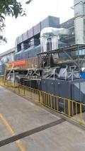 长安灯饰厂喷涂废气采用升级版处理设备提高净化效率