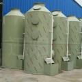 废气净化喷淋塔的工作原理