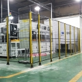 山东济宁供应车间隔离网 机器人防护网 物流设备围网