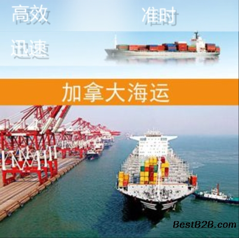 深圳电子产品海运拼箱到加拿大门到门双清包税