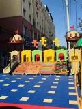 幼儿园大型户外碳化烧搭建大积木木质大积木儿童碳化玩