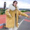 女式羽绒服中长款广州货仓库存处理女装羽绒服地摊货源