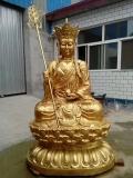 纯铜地藏菩萨_纯铜地藏菩萨制作_纯铜地藏王菩萨供应
