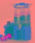 7.9升酵素瓶玻璃密封罐泡酒瓶子泡菜厨房家用腌制储