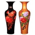 大花瓶缠枝莲青花瓷瓶家居