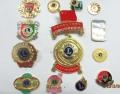 上海金属徽章制作厂家公司徽章设计金属纪念币定做