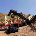 移动石子制沙机 建筑垃圾粉碎机 轮式车载移动破碎站