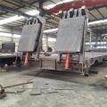 索马里出口底盘半挂车平板拖车生产价格
