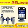 动态人脸识别门禁系统考勤机打卡机双门磁力锁套装自动