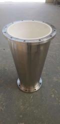 旋流器陶瓷内衬厂家 高品质高耐磨旋流器底流口