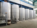 定制全新不锈钢化工储罐 304食品液体储存罐