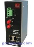 讯记2电1光工业光纤收发器能够在严酷的电磁环境工作
