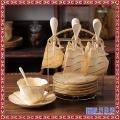 创意宫廷咖啡具套装 欧式陶瓷家用咖啡杯茶具英式