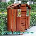 实木垃圾桶 防腐木带巢 果皮框市政园林公共环保箱