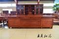红木大班桌家具木板不变形
