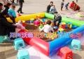 广东大都会棋牌游戏儿童玩沙玩具充气沙滩池经营更好玩