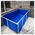 活动帆布鱼池-室内养殖帆布水池-户外养殖鱼池-帆布
