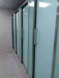 揭阳厕所玻璃隔断安装专业洗手间隔断设计