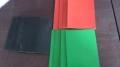 柳叶纹防滑型绝缘橡胶板3mm绿黑 蓝黑 灰黑金河厂