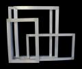 福建地区印刷铝框 丝印印花铝合金网框尺寸