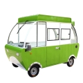 厂家直销电动四轮多功能小吃餐车摆地摊早餐房车