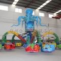 旋转大章鱼设备多少钱 室外大型游乐设备