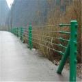 镀锌端栏 湖边绳索护栏生产厂