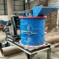 立式破碎机大型制沙机设备全套小型河卵石细碎矿渣立式