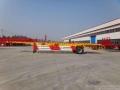 优势11.5米轻量化低平板半挂车模型