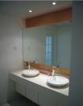 安装家用贴墙镜子浴室梳妆舞蹈室大镜子定做厂家