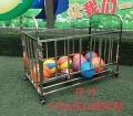 幼儿园不锈钢篮球框,带门篮球框