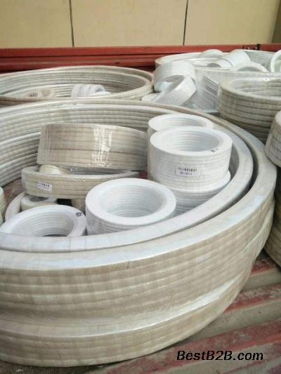 武夷山四氟垫片,四氟板,四氟包覆垫,聚四氟乙烯盘根价格